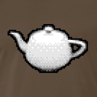 Design ~ Utah Teapot - 8 bit retro
