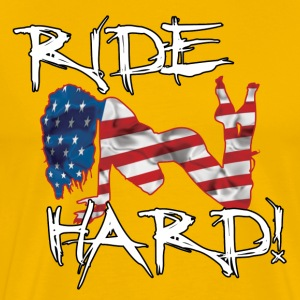 Ride Hard-v1 - Men's Premium T-Shirt