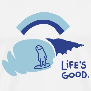 Life's Good - Front Print - Men's Premium T-Shirt