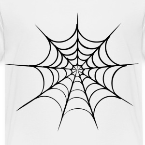 White spider web Toddler Shirts - Toddler Premium T-Shirt