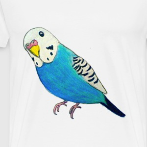 Parakeet Drawing T-shirt - Men's Premium T-Shirt