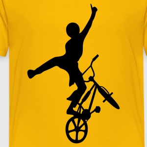Yellow freestyler2 Kids' Shirts - Kids' Premium T-Shirt