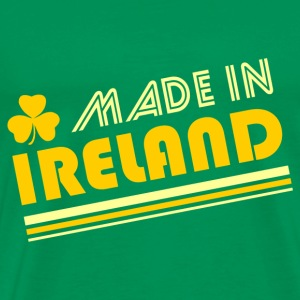 Bright green Made In Ireland T-Shirts - Men's Premium T-Shirt