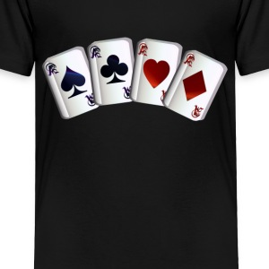 All Four Aces - Toddler Premium T-Shirt