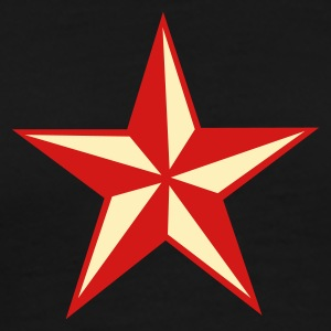Black nautic star T-Shirts - Men's Premium T-Shirt