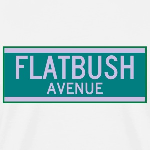Flatbush Avenue Sign T-Shirt - Men's Premium T-Shirt