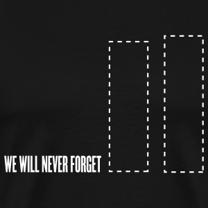 Black SEPTEMBER 11 ATTACKS - TRIBUTE T-Shirts - Men's Premium T-Shirt