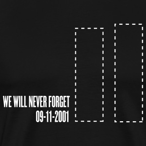 Black september 11 - tribute T-Shirts - Men's Premium T-Shirt