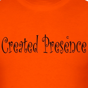 Orange created_presence T-Shirts - Men's T-Shirt