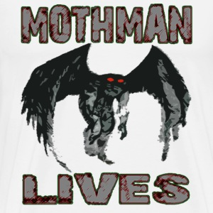 MOTHMAN LIVES - Men's Premium T-Shirt