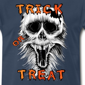 Trick Or Treat Skull - Men's Premium T-Shirt