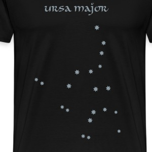 Black astronomy_ursa_major T-Shirts - Men's Premium T-Shirt