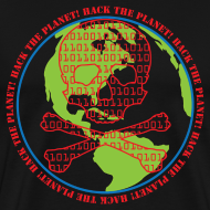 Design ~ Hack the Planet! Men's T-Shirt