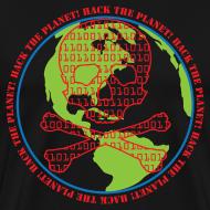 Design ~ Hack the Planet! Men's T-Shirt