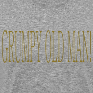 Ash  grumpy_old_man T-Shirts - Men's Premium T-Shirt