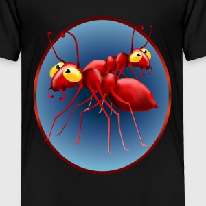 Two Red Ants in a Circle - Toddler Premium T-Shirt