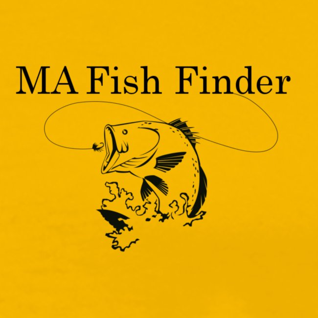MA Fish Finder T-Shirt (Yellow)