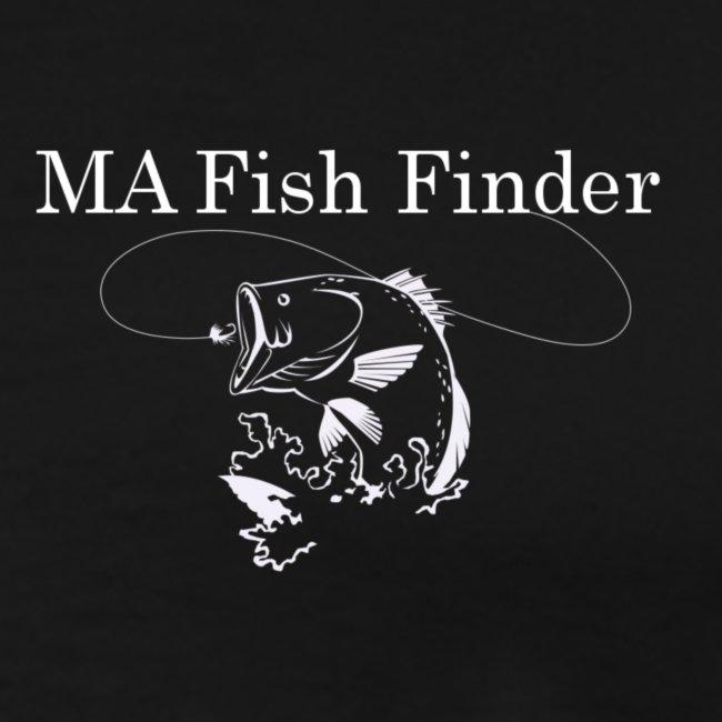 MA Fish Finder T-Shirt (Black)
