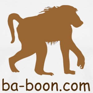 Baboon brown - Men's Premium T-Shirt