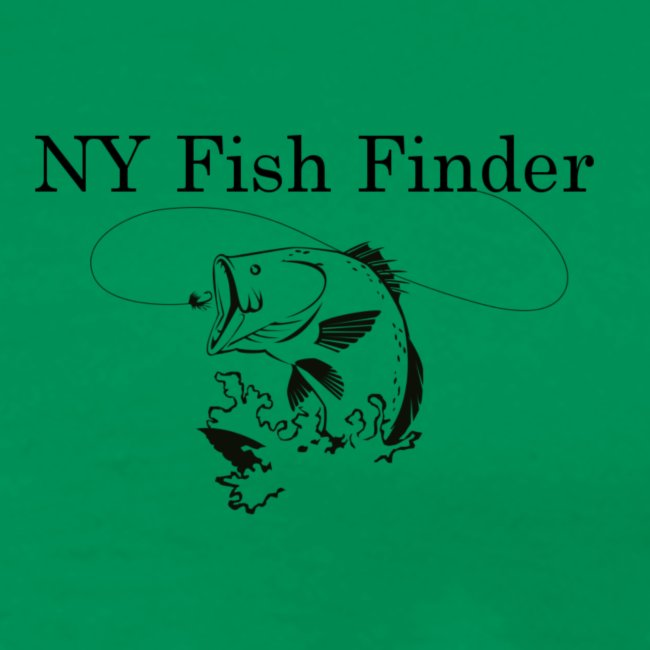 NY Fish Finder T-Shirt (Sage)