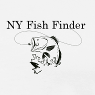 Design ~ NY Fish Finder T-Shirt (Natural)
