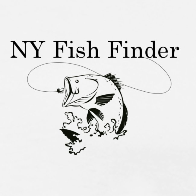 NY Fish Finder T-Shirt (Natural)