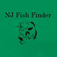 Design ~ NJ Fish Finder T-Shirt (Sage)