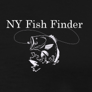Design ~ NY Fish Finder T-Shirt (Black)