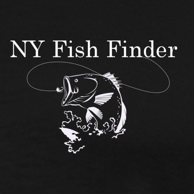 NY Fish Finder T-Shirt (Black)