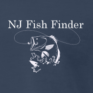 Design ~ NJ Fish Finder T-Shirt (Navy)
