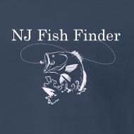 Design ~ NJ Fish Finder T-Shirt (Navy)