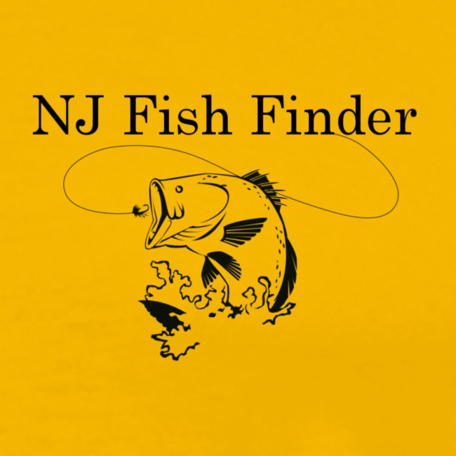 NJ Fish Finder T-Shirt (Yellow)