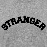 Design ~ STRANGER mens heavyweight