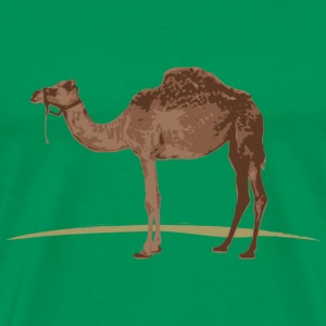 Camel T-Shirt - Green - Men's Premium T-Shirt