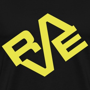 Black Rave T-Shirts - Men's Premium T-Shirt