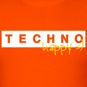 Techno Happy - Men's T-Shirt