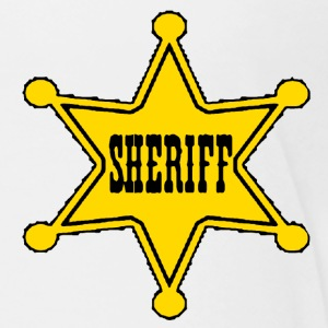 White sheriff badge Toddler Shirts - Toddler Premium T-Shirt