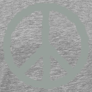 peace sign - Men's Premium T-Shirt