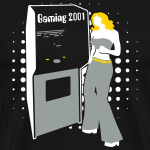 Black Gaming2001 T-Shirts - Men's Premium T-Shirt