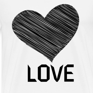 Love t-shirt - Men's Premium T-Shirt