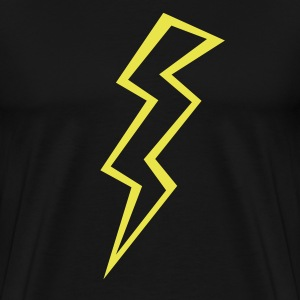 Black lightning (ZAP) T-Shirts - Men's Premium T-Shirt