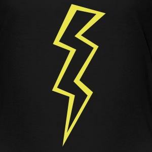 Black lightning (ZAP) Toddler Shirts - Toddler Premium T-Shirt