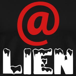 MEN`S 3XL T-SHIRT - @LIEN by MYBLOGSHIRT.COM - Men's Premium T-Shirt
