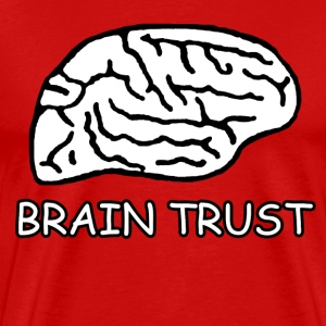 Red Scrubs Brain Trust T-Shirts - Men's Premium T-Shirt