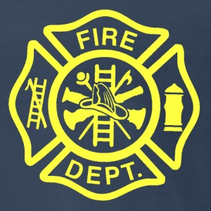 Fire/EMS Shirt (Yellow Imprint - 3XL) - Men's Premium T-Shirt