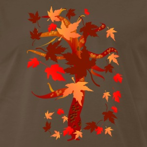 Autumn Tree - Men's Premium T-Shirt
