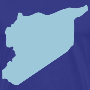 Royal blue Syria T-Shirts - Men's Premium T-Shirt