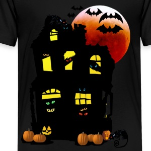 Halloween Mansion - Toddler Premium T-Shirt