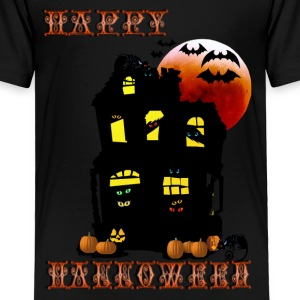 Happy Halloween Mansion - Toddler Premium T-Shirt