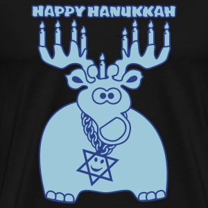 Happy Hanukkah - Men's Premium T-Shirt